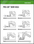 PRO-LON™ DOOR SEALS